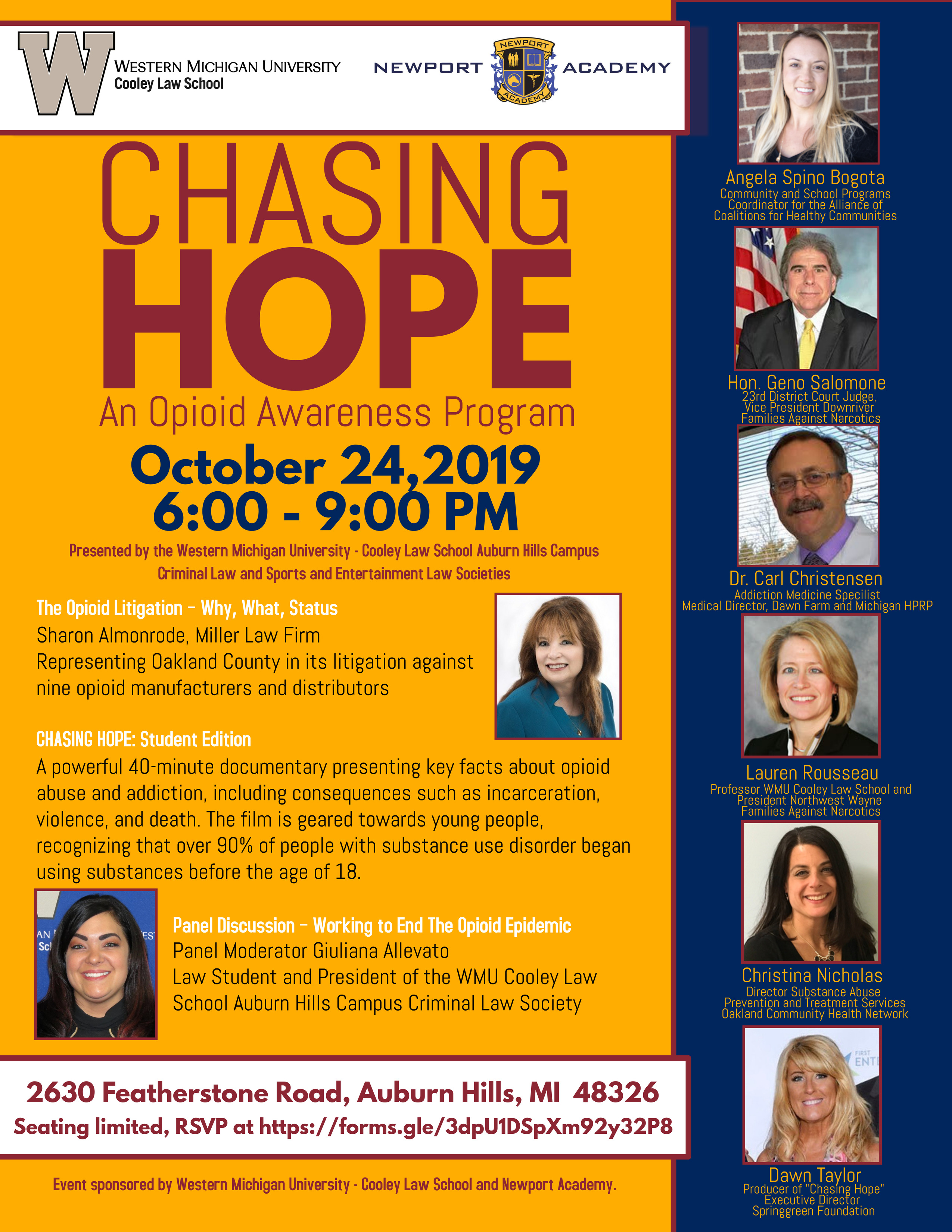 Chasing Hope: An Opioid Awareness Program