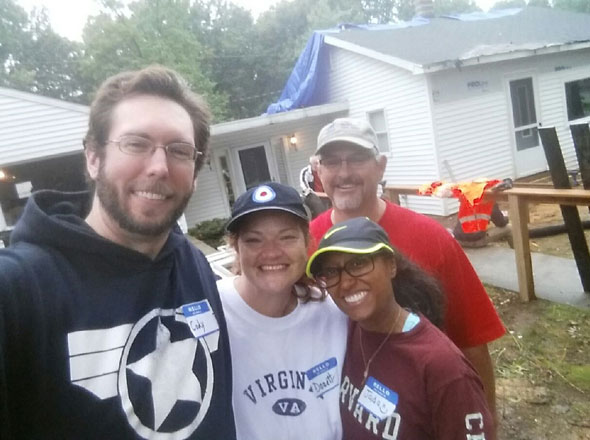 Habitat volunteers in Grand Rapids