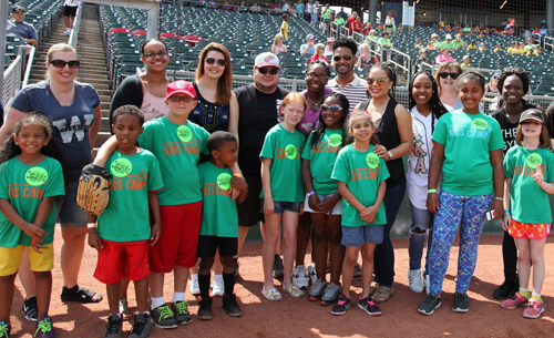 Participants at WMU-Cooley for Kids Day