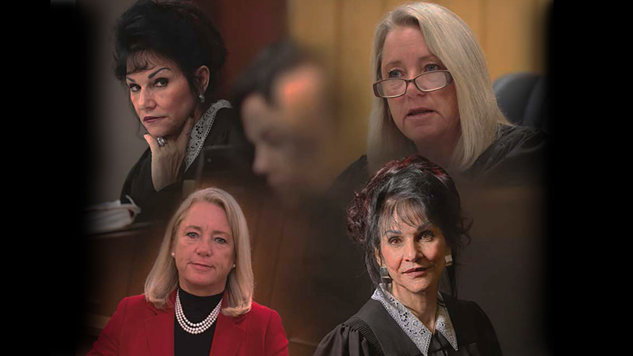 Montage of Judges Rosemarie Aquilina and Judge Janice Cunningham
