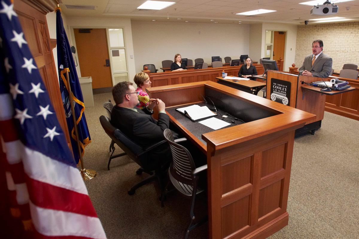 Grand Rapids Campus Courtroom Classroom