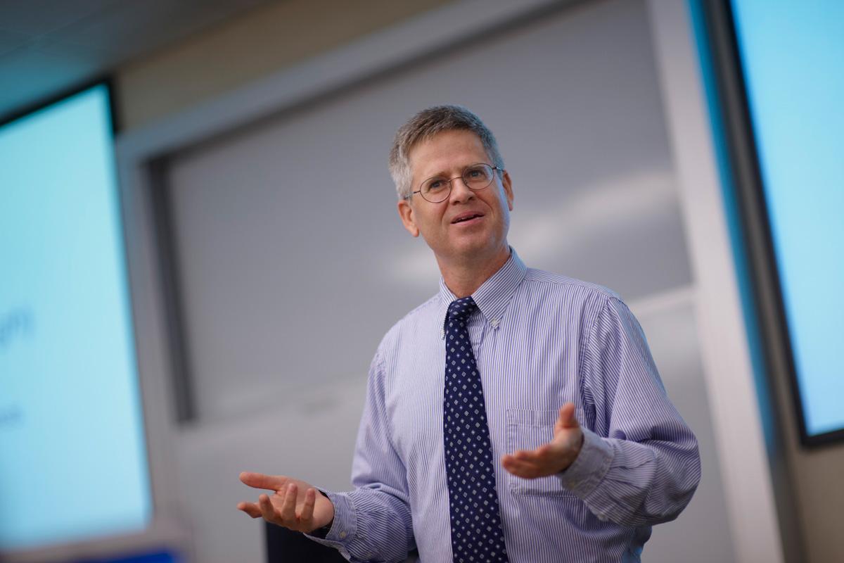 WMU-Cooley Professor Devin Schindler