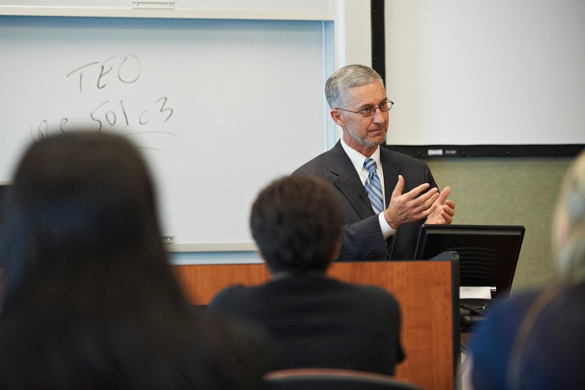 WMU-Cooley Associate Dean Nelson Miller
