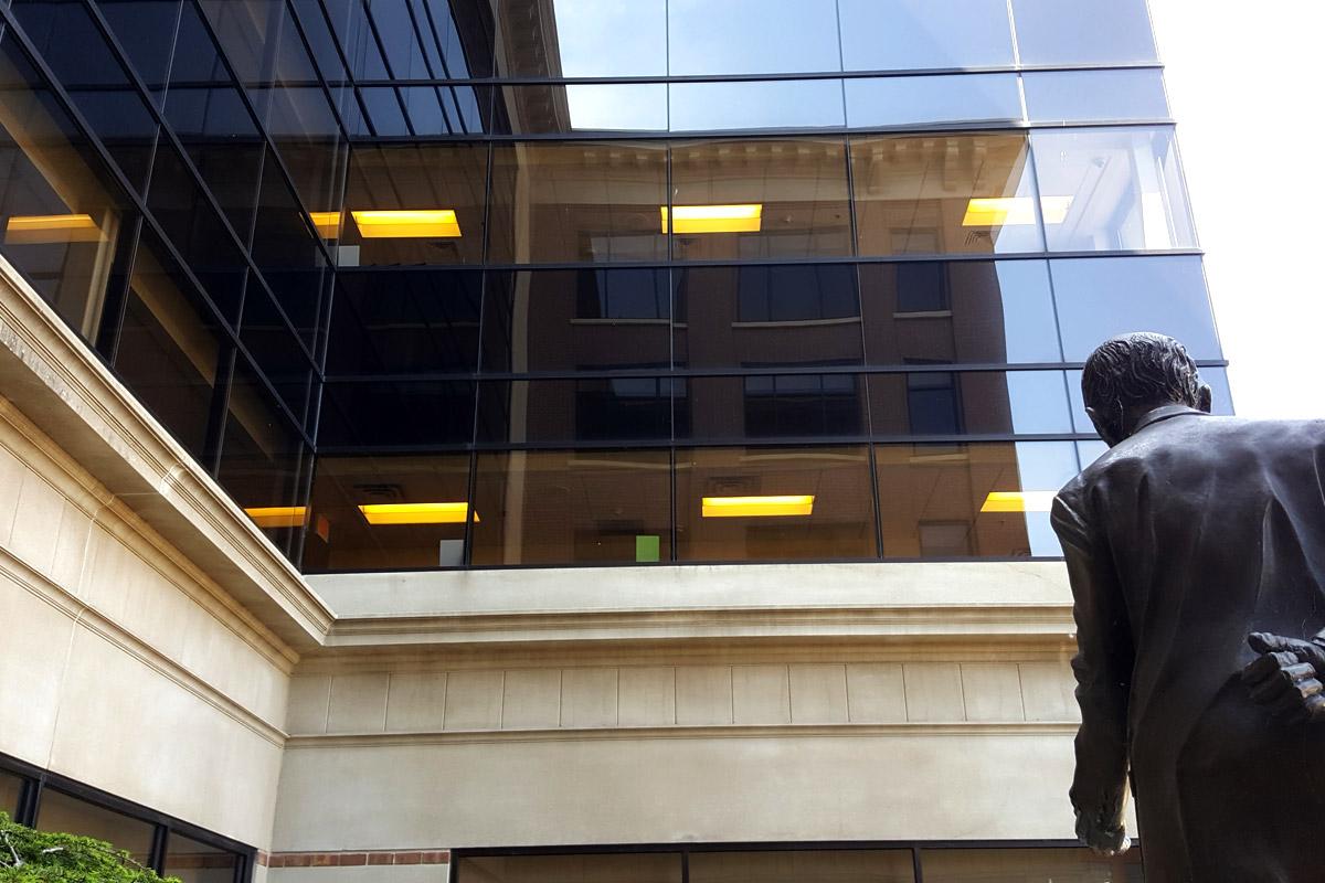 Grand Rapids Campus Courtyard