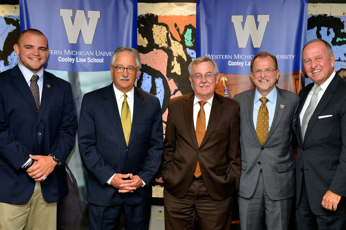 Celebrating the Western Michigan University and WMU-Cooley affiliation
