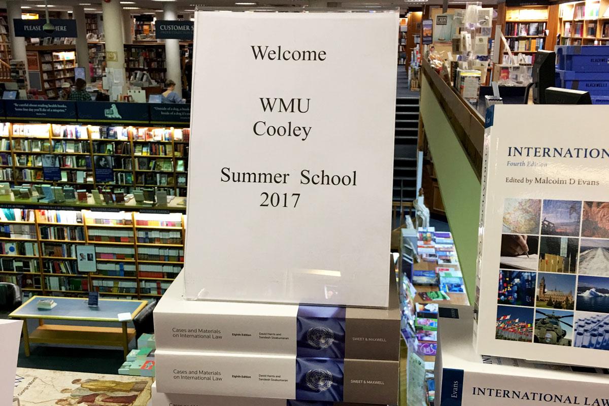 Oxford Study Abroad Law Books
