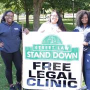 Street Law Stand Down 2018 volunteers