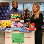 Roan and Bywater Toys for Tots